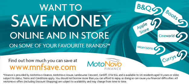 MotoNovo Discount Shopping